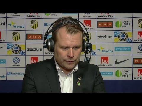 """Stahre besviken: """"Mest oroad över att vi klappade igenom"""" - TV4 Sport"""