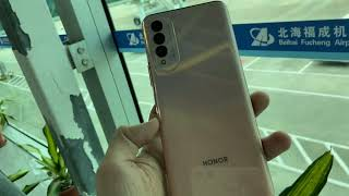 Honor X20 SE Hands On