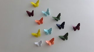 Craft Work :सजाए अपने घरोंदे को खूबसूरत तितलियो से ,बिल्कुल आसान तरीका
