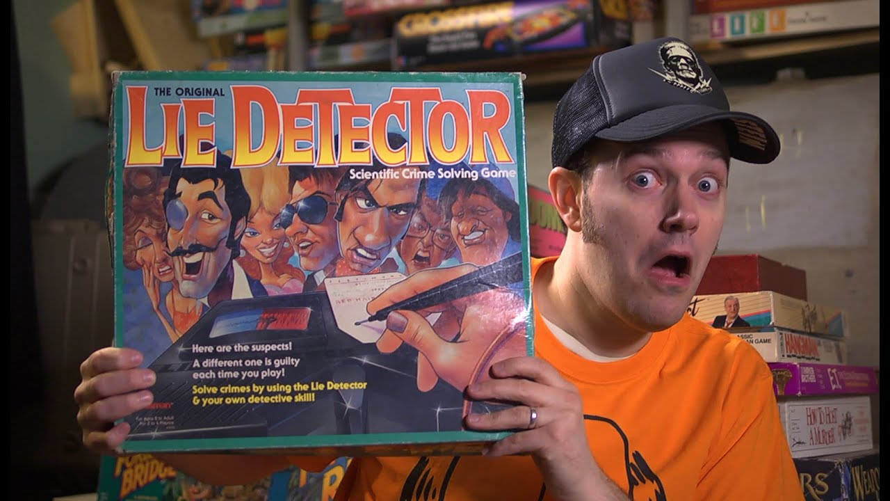 Lie Detector Game Board James Episode 21 Youtube
