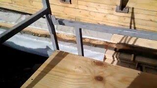 самодельные строительные леса отделочника (подмости)(посмотрел видео про самодельные леса и не долго думая решил сделать себе такие же и вот что из этого вышло ), 2016-04-05T09:29:10.000Z)
