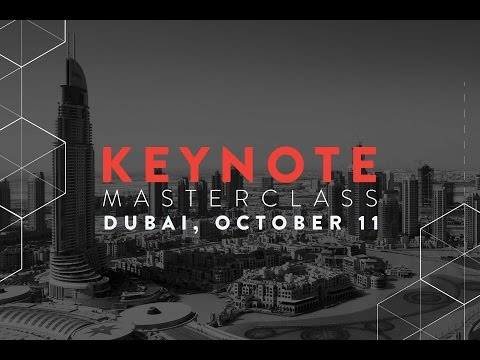 Dr  Noah Raford - Keynote Masterclass 2016 Dubai Future Foundation
