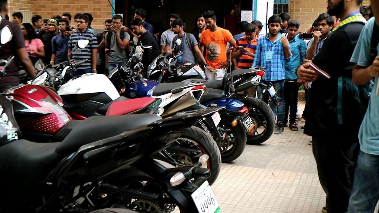 Thakur College Super Bike Show 2017 Motovloggers Meetup 2017