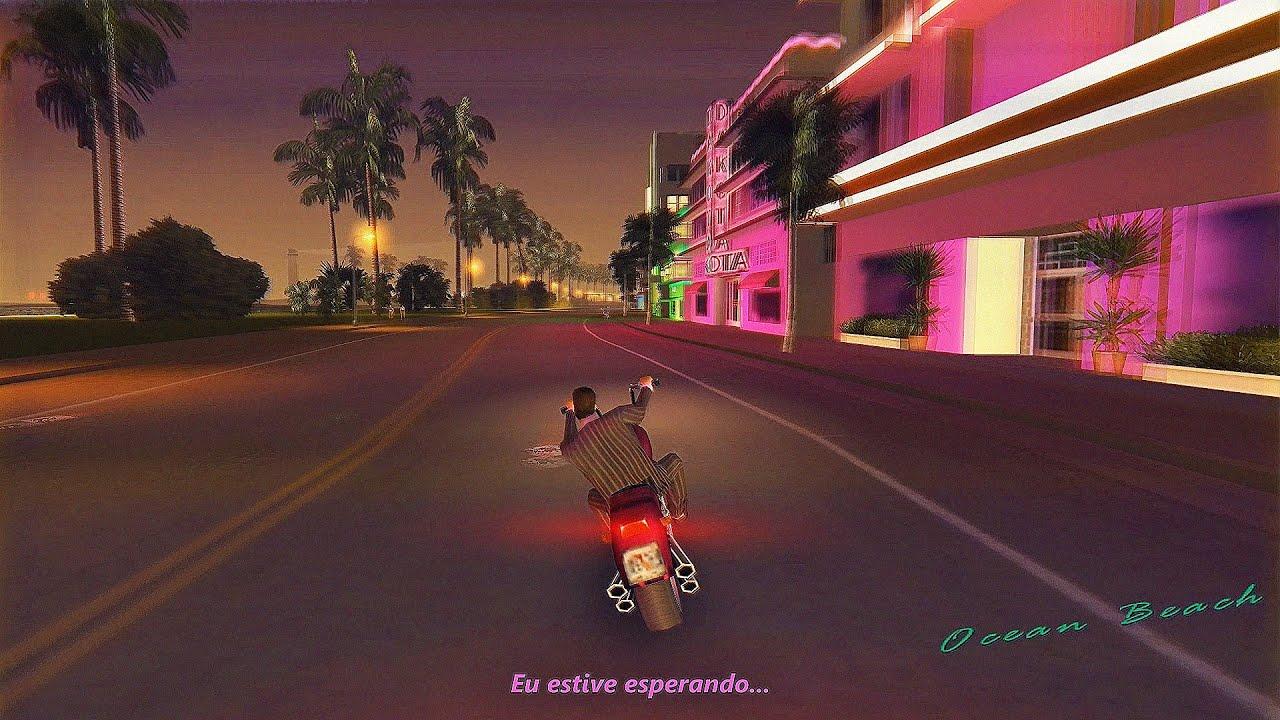 Waiting For A Girl Like You - GTA Vice City (Legendado)