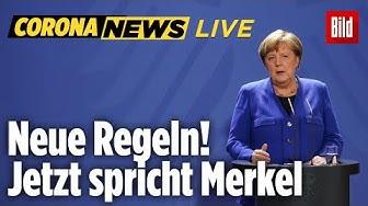🔴 Jetzt erklärt Merkel die noch härteren Corona-Regeln! | Corona-Update Live