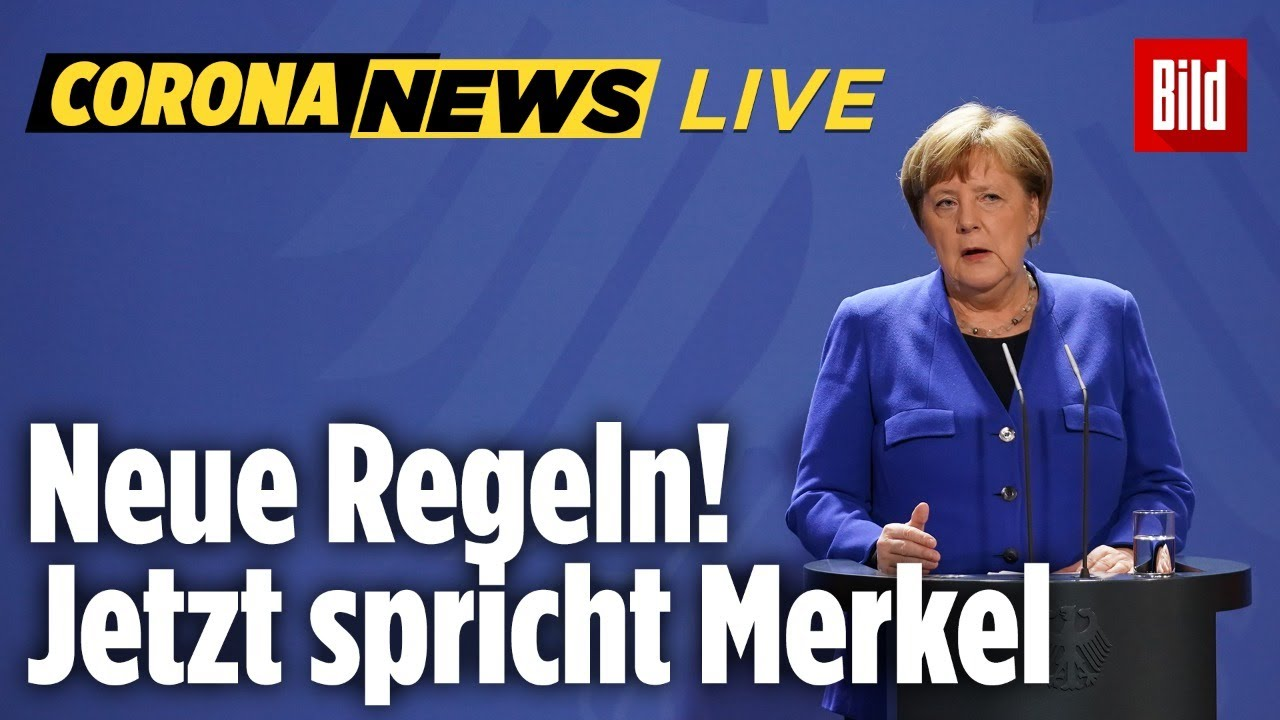 Corona Merkel Live