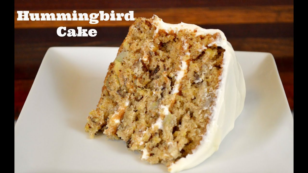 ULTIMATE HUMMINGBIRD CAKE Recipe |How to Make a Hummingbird Cake |Cooking With Carolyn