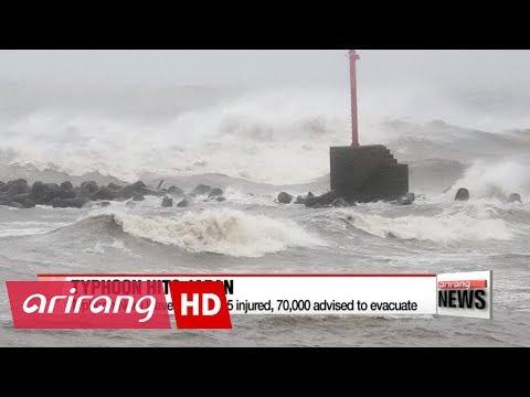 People advised to evacuate as Typhoon Noru hits Japan's main island