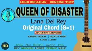 Karaoke queen of disaster - lana del ...