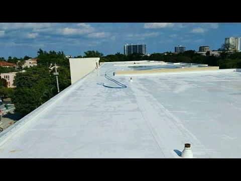Professional TPO Flat Roof Cleaning Boca Raton - 561-907-9541