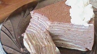 Блинный торт. Диета Дюкана