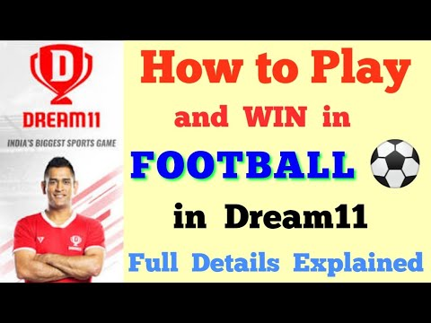 How To Play Football In Dream11? Full Details Explained For Fantasy Football On Dream11