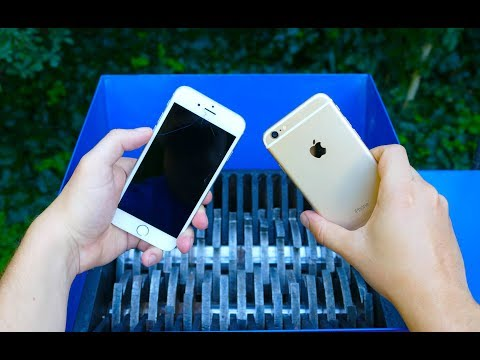 SHREDDING APPLE PRODUCTS (IPHONE, IPAD) AND OTHER SMARTPHONES
