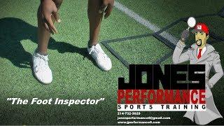 2018 JONES PERFORMANCE SPORTS TRAINING   THE FOOT INSPECTOR