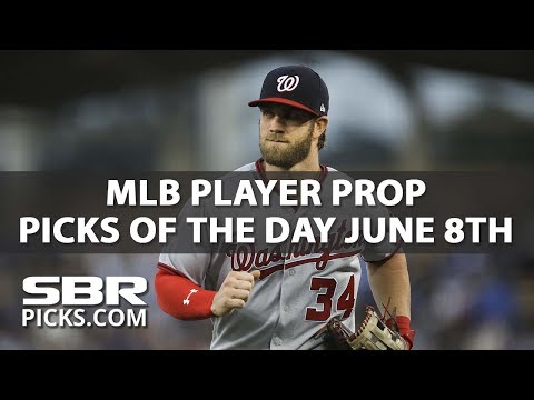 MLB Betting | Player Prop Picks of the Day | June 8th