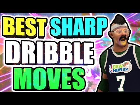 BEST DRIBBLE MOVES FOR A SHARPSHOOTER • BECOME AN UNGUARDABLE SHARP • PLAYSHOOTER + HALFCOURT GREENS