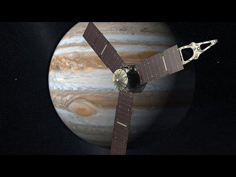 NASA's Juno probe to slingshot around Earth en route to Jupiter