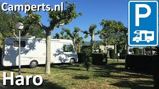 Camping de Haro, Haro, La Rioja, Basque Country, Spain