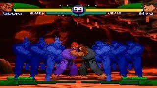 Download Video [TAS] Evil Ryu VS Shin Akuma (Gouki) (Street Fighter Zero 3) MP3 3GP MP4