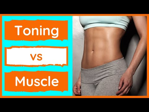 Toning vs Building Muscle » How To Tone & What To Expect