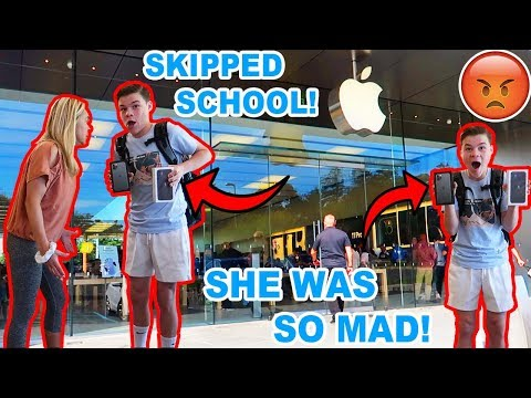 SKIPPING SCHOOL TO BUY THE IPHONE 11! *SUSPENDED*