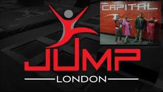 Trampoline Park Challenge  Jump London.