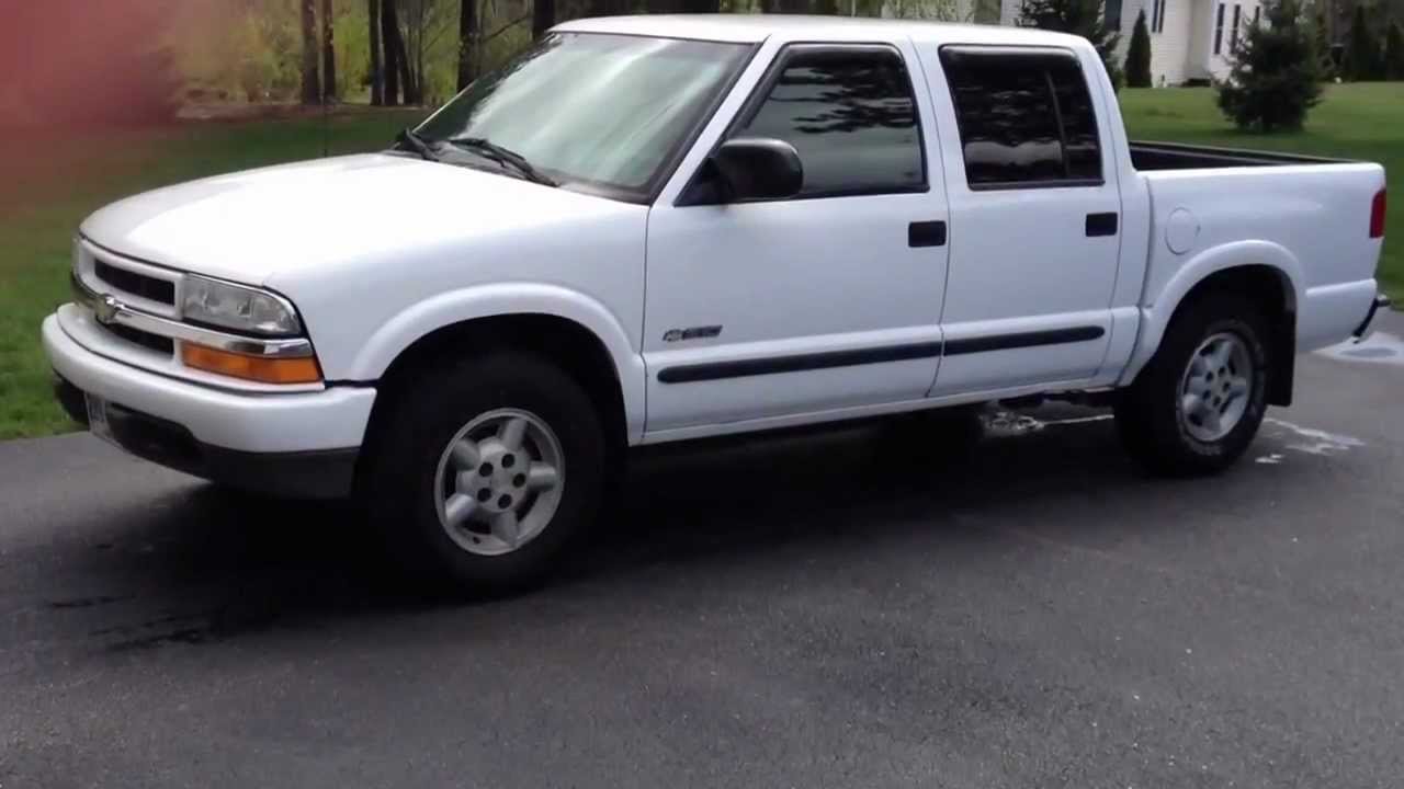 All Chevy 2003 chevy s10 sale : 2003 Chevrolet S-10 LS Crew Cab 4X4 Start Up, Review, Tour - YouTube