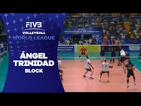Brilliant rally, Trinidad ends with block - World League 2017