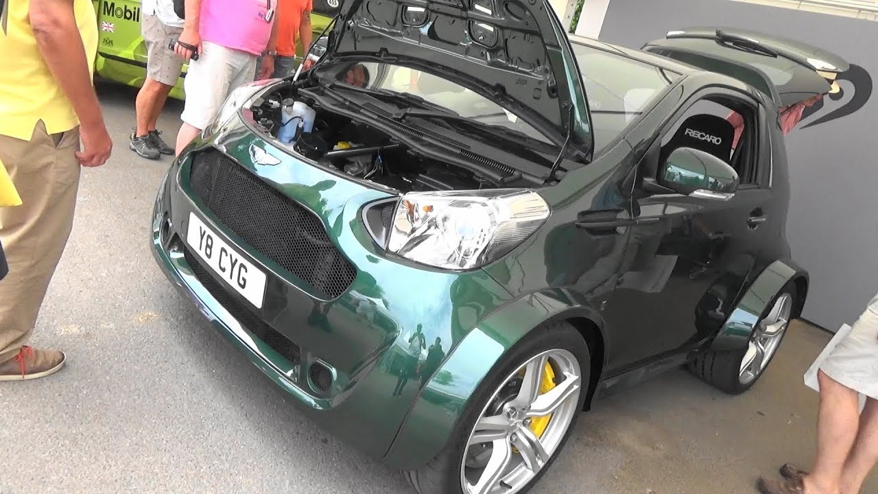 Aston Martin Cygnet V8 Goodwood Festival Of Speed 2018 Youtube