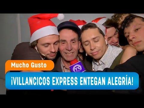 La patrulla y los villancicos express alegraron las calles - Mucho Gusto 2018
