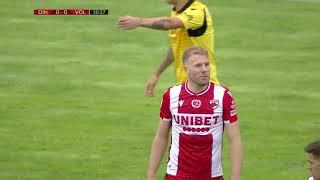 Динамо Бухарест  2-0  Волунтари видео