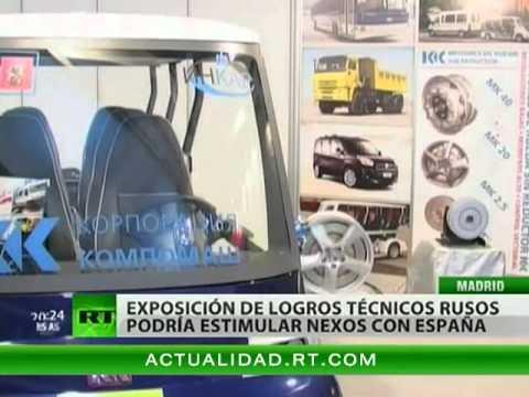 Rusia lleva a España nuevas tecnologías en el marc...