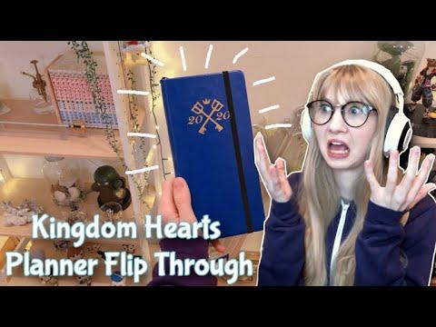 Kingdom Hearts Planner Flip Through