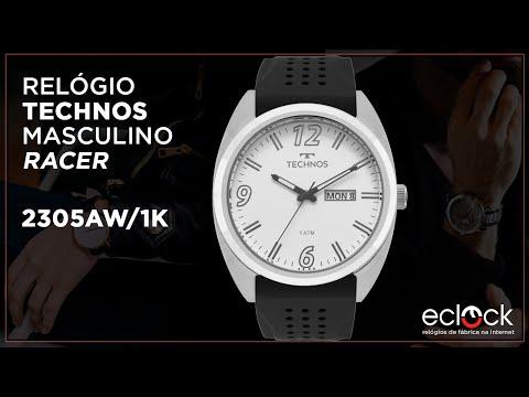 e1434b0f62dc2 Relógio Technos Masculino Performance Racer 2305AW 1K - Eclock - Eclock  Relógios - imclips.net