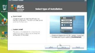How To Install AVG Free Anti Virus On Windows Vista