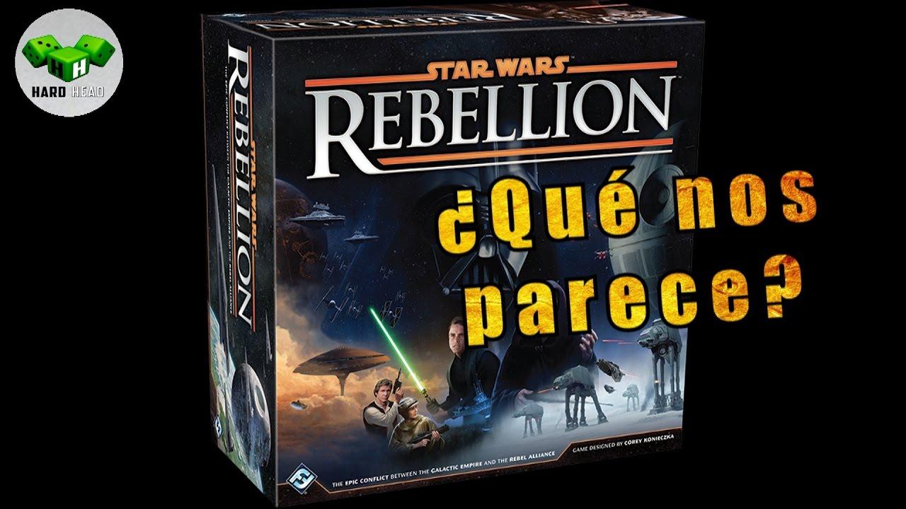 Star Wars rebellion   Opinión   juego de mesa español ...