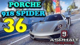 ASPHALT 9: LEGENDS - PORCHE 918 SPYDER - ANDROID / iOS GAMEPLAY - #36