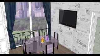 Kitchen in Google SketchUp 8