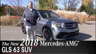 Review: New 2018 Mercedes-AMG GLS63 SUV - Minneapolis Minnetonka Wayzata, MN | Walk Around
