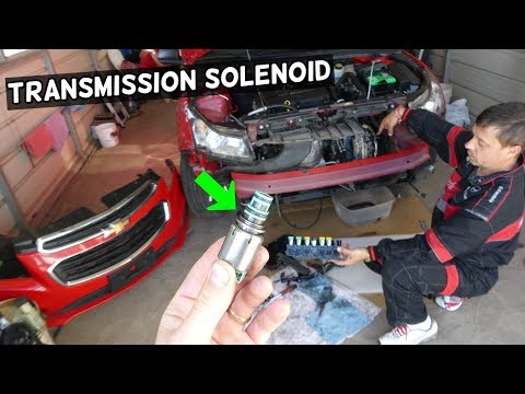 HOW TO REPLACE TRANSMISSION SOLENOID ON CHEVROLET CRUZE SONIC MALIBU EQUINOX