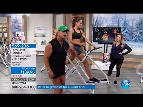 HSN | Tony Little Health & Fitness 01.19.2018 - 05 AM