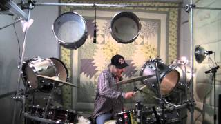 Bert Switzer on Drums - 11.08.11 - Video Diary - 22 piece kit