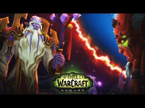 Velen and Kil'Jaeden Reunited - World of Warcraft