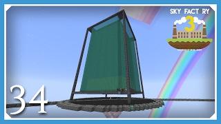 FTB Sky Factory 3 | Maximum Size Extreme Reactor! | E34 (Modded Skyblock Minecraft 1.10.2)