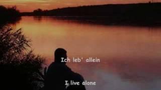 """Gustav Mahler - """"Ich bin der Welt abhanden gekommen"""" (Rückert) - Fischer-Dieskau"""