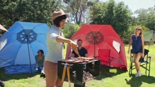 Download lagu Sport-Brella XL Instant Outdoor Family Shelter Umbrella on QVC