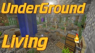 How to Make an Underground Base in Minecraft   Minecraft Cave Base   Lets Build Tutorial