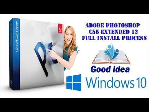 Adobe Photoshop CS5 Extended 12 FULL INSTALL PROCESS