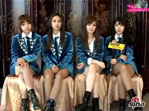 121205 miss A 미쓰에이 Sina interview (Beijing)