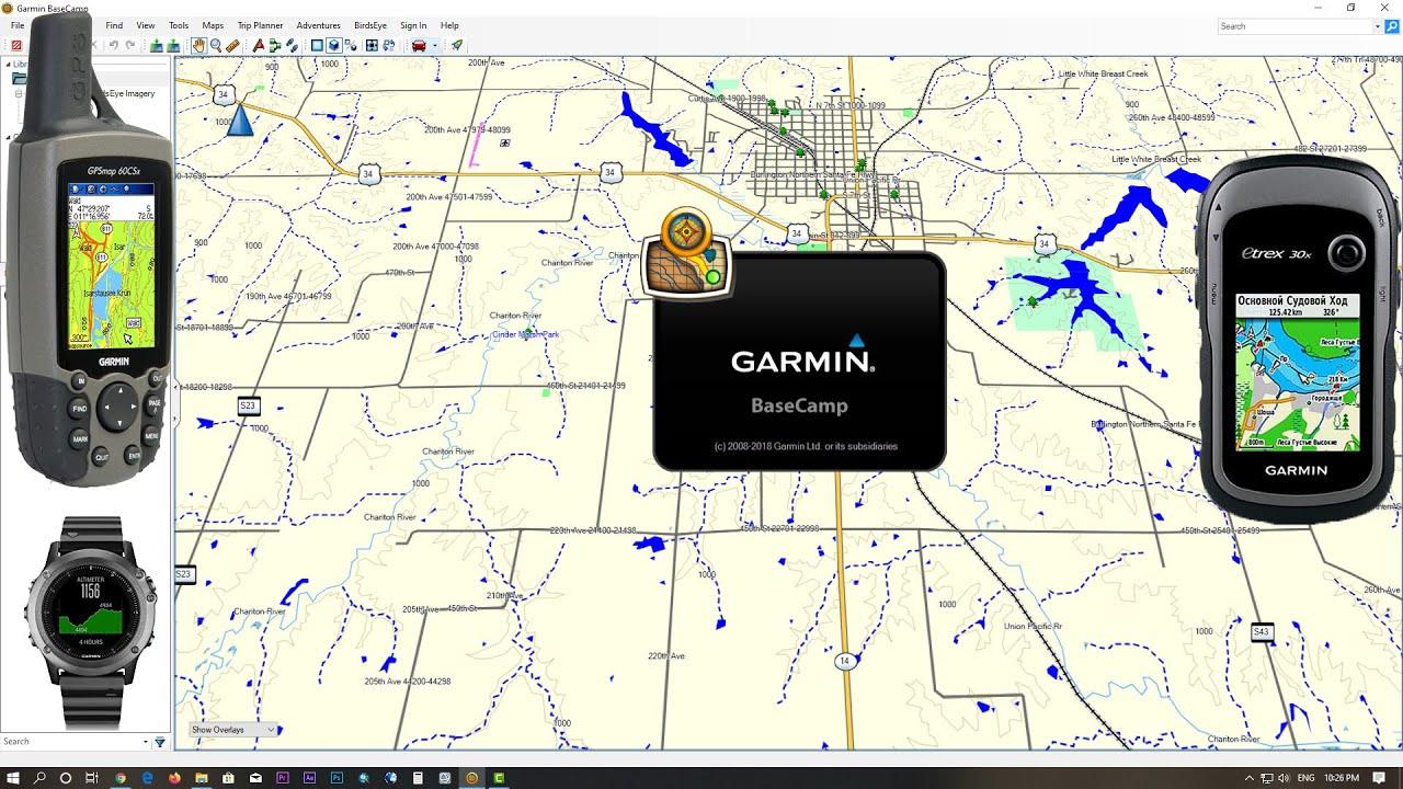 how to upload garmin maps